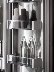 Column refrigerator and freezers are becoming more popular.