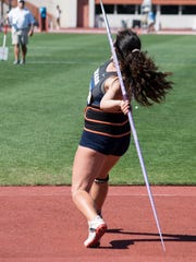 Katia Coquis Lossio was a standout in javelin.