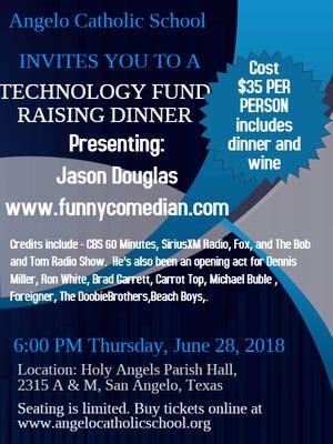 Angelo Catholic fundraiser