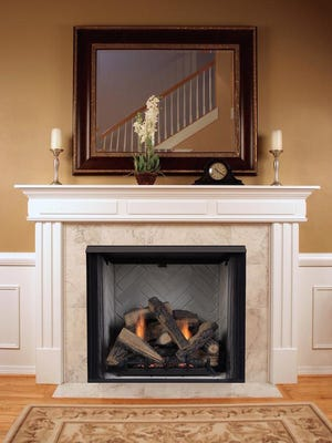 Gas log fireplaces need maintenance and inspection, too.