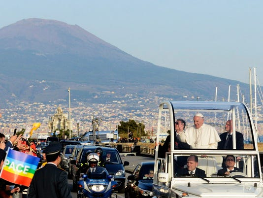 AP ITALY POPE I ITA