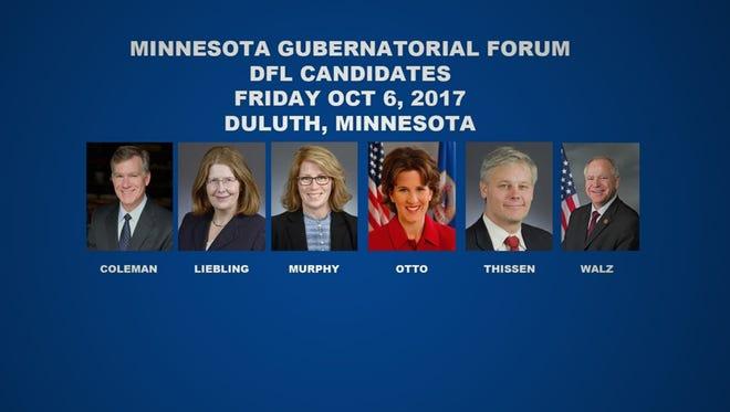 AFSCME Duluth Minnesota Gubernatorial Forum (DFL candidates)