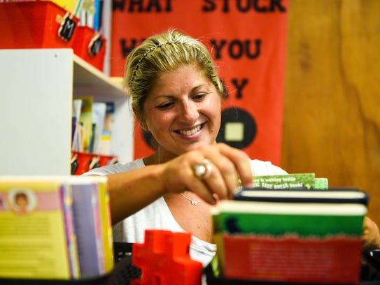 Khrista Simonini, Compass Academy Charter School third-grade