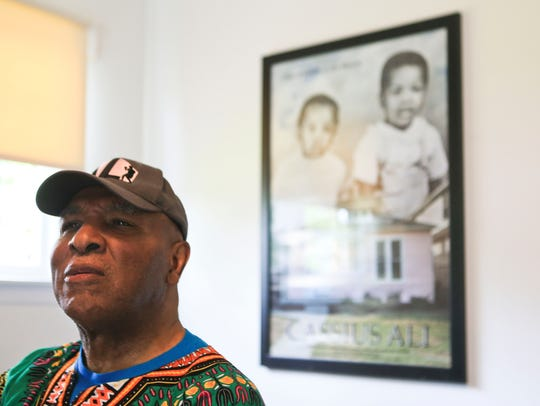 Rahman Ali, 72, the younger brother of Muhammad Ali,