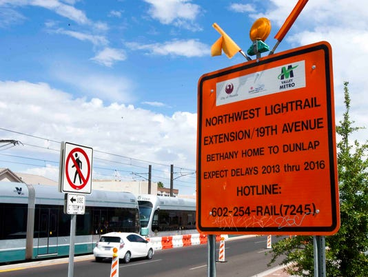 light-rail extension from