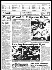 This week in B.C. Sports History - Week of Nov. 5, 1985