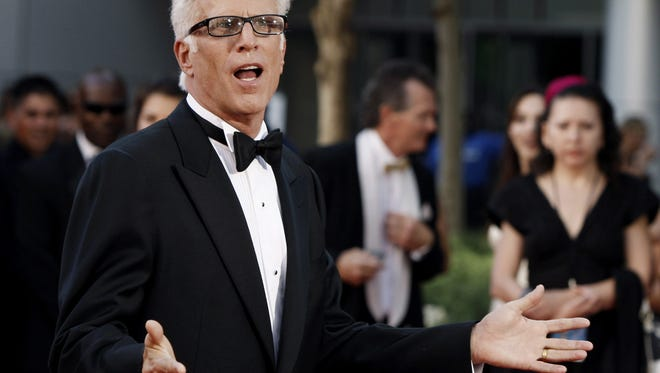 Ted Danson will stump for Hillary Clinton in Lancaster on Monday.