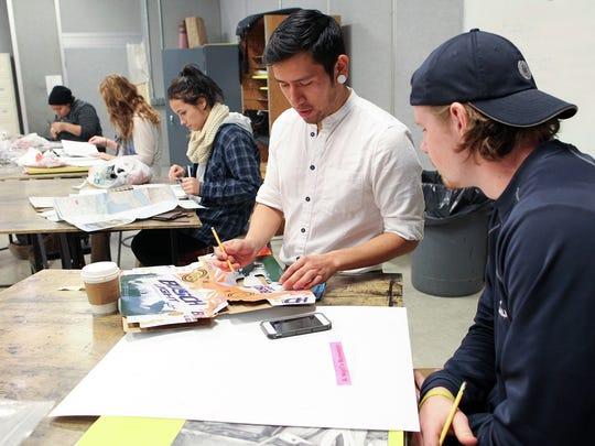 University of Iowa art MA and MFA graduate student