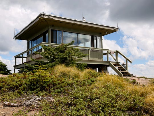 The Coffin Mountain Lookout in the Willamette National