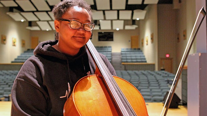 Cello player Nadia Morman-Williams, an eighth-grader at Novi Middle School, will be attending the Sphinx Performance Academy in Chicago this summer.