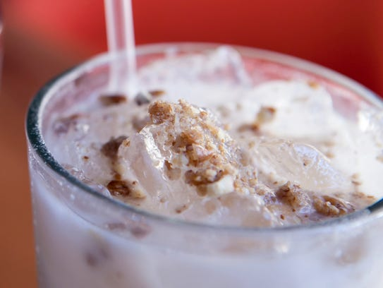 Joyride Taco House's horchata may be ordered with a