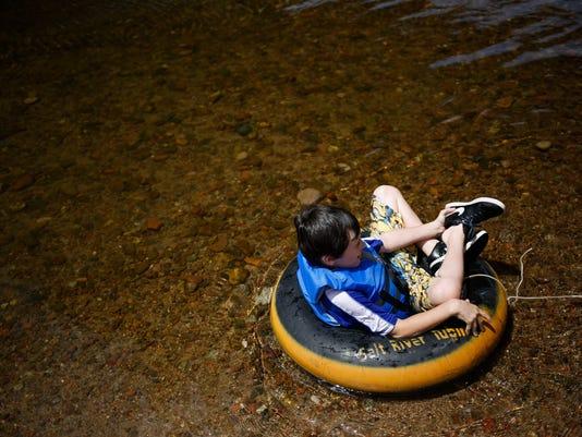 Salt River opens for tubing