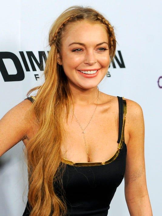 Lindsay premiere Scary Movie V