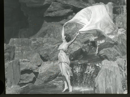 1933 photo of  Irma Duncan, from the Isadora Duncan