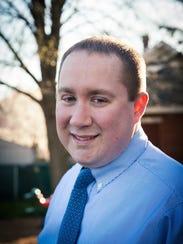 Brian Craig, a Palmyra Borough councilman, is running