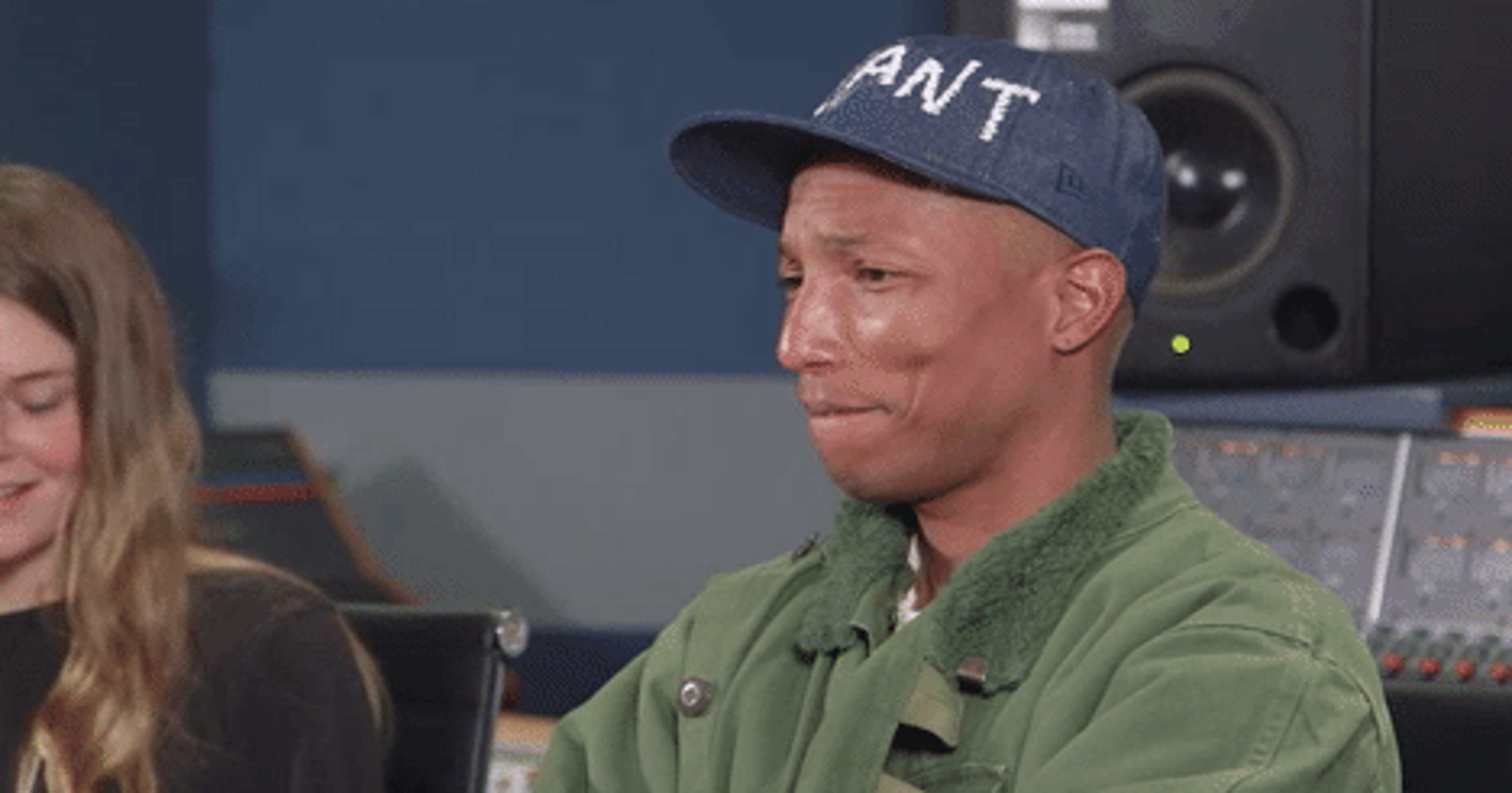 a8043d027 Watch  This NYU student s music moves Pharrell Williams to tears