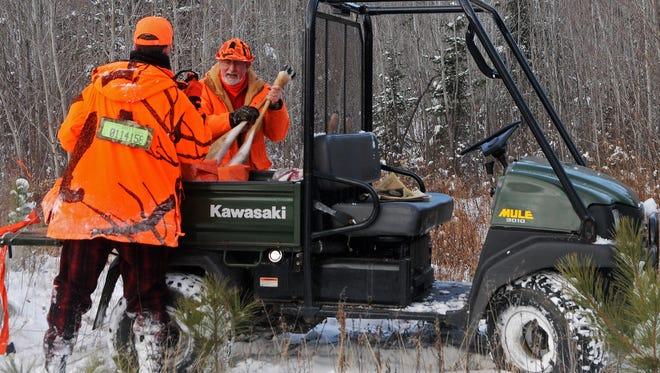 The Wisconsin gun deer season begins Saturday, Nov. 21