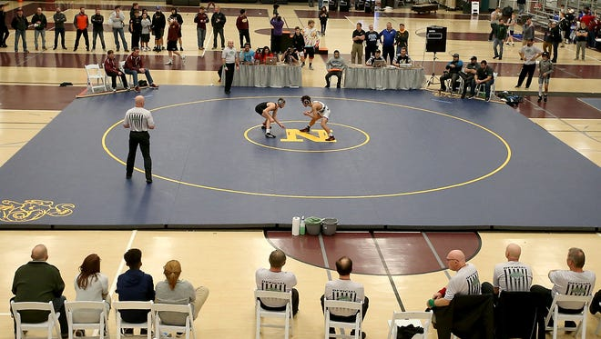 South Kitsap's wrestling team placed fourth as a team at Saturday's Gut Check Challenge tournament at the Kitsap Sun Pavilion.