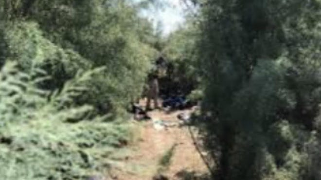Pueblo Police Department personnel are investigating the death of a person whose body was found along Fountain Creek on Thursday morning.