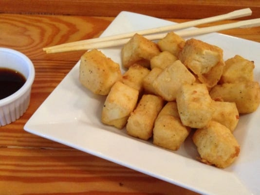 Fugu Tei fried tofu
