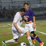 Fowlerville soccer's Bailey Edwards scored and has an assist on Saturday in the Jackson Tournament.