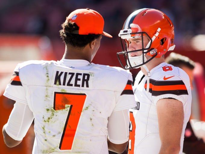 32. Browns (32): You know, fellas, Cody Kessler was