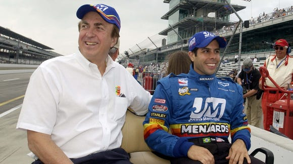 Vitor Meira drove in the Indianapolis 500 for John