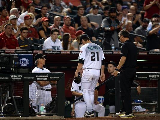 MLB: Philadelphia Phillies at Arizona Diamondbacks
