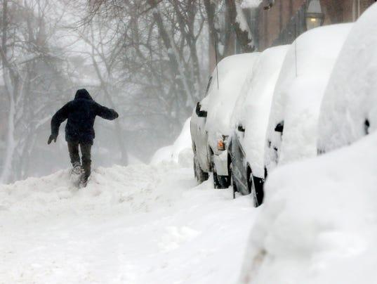 AP NEW ENGLAND SNOW A WEA USA MA