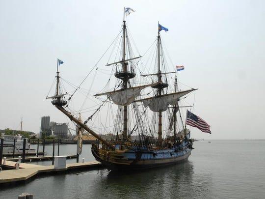 Delaware's tall ship is the Kalmar Nyckel.