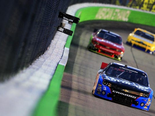 Race photo at Newton