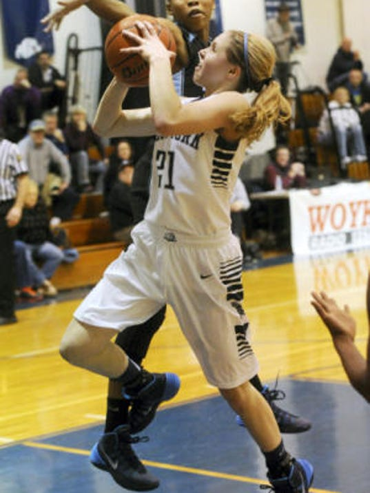 Kari Lankford and West York moved up to No. 2 in the District 3 Class AAA rankings. (JASON PLOTKIN -- GAMETIMEPA.COM)