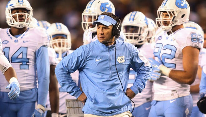 Larry Fedora's Tar Heels could be ranked as soon as next week with a win over Duke.