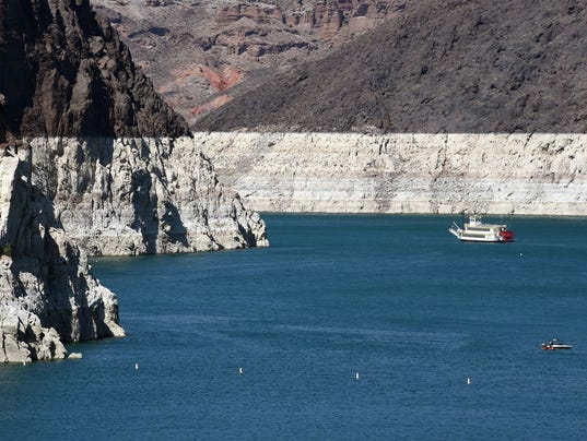 Lake Mead At Historic Low Levels As Drought Continues In Western US