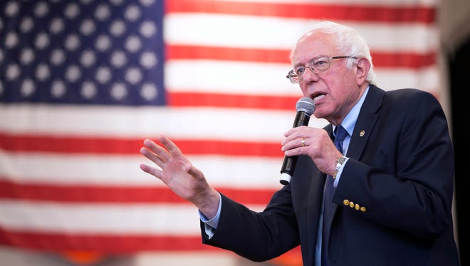 Democratic presidential candidate Sen. Bernie Sanders, I-Vt., said he lost primaries in the Deep South because the region is so conservative.