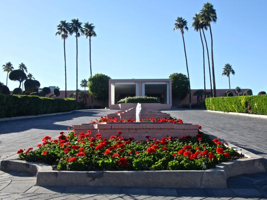 With its pink walls and homes, Palm Desert's Marrakesh Country Club will participate in Modernism Week 2016.