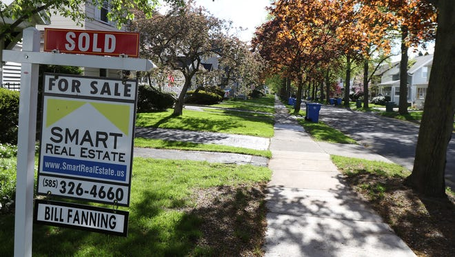 For sale: Colonial Road in North Winton Village, where homes are in high demand.