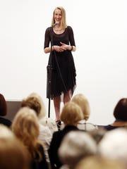 Helen Nosova tells her story at the Arizona Storytellers: