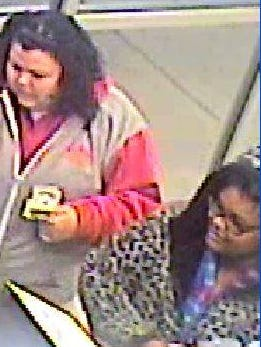 Cherry Hill police are searching for these two women in connection with a stolen wallet.