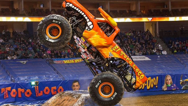 Look for El Toro Loco to go airborne and crush some cars during Monster Jam Saturday and Sunday at the Resch Center.