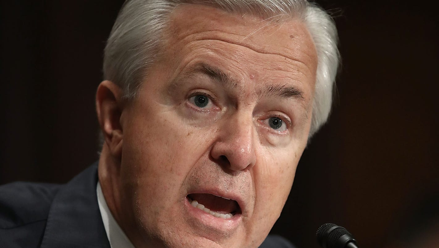 wells fargo ceo grilled by house panel