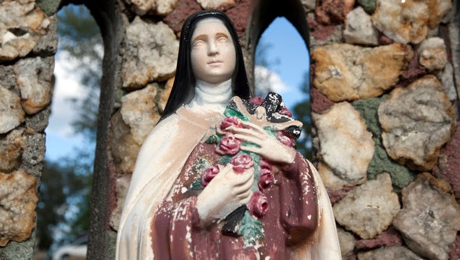 Donations are welcome to help preserve the Mother of God grotto in Jasper.