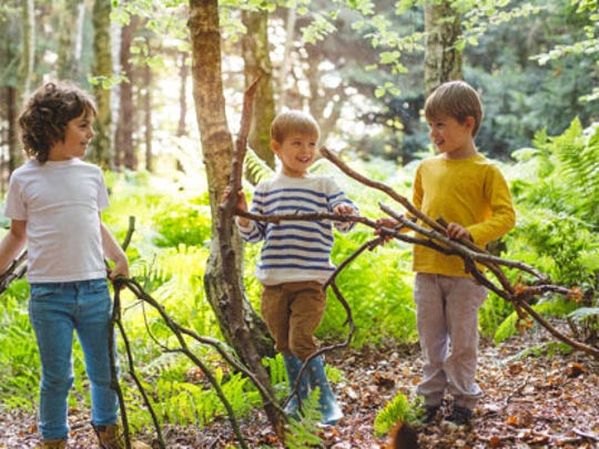 Ticks are often found in woodsy, grassy areas. Be sure