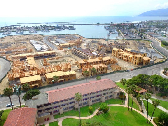 The first apartments at Portside Ventura Harbor are