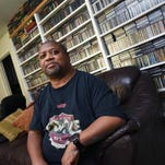 Poet and music journalist Charlie Braxton of Jackson estimates his music CD collection at around 10,000 discs