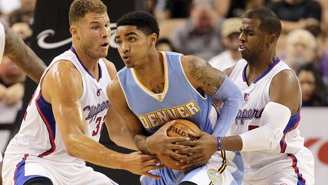Denver Nuggets guard Gary Harris.