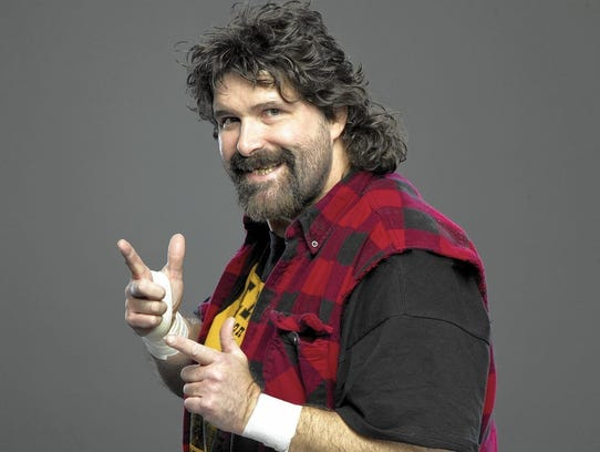 Ex-wrestler Mick Foley
