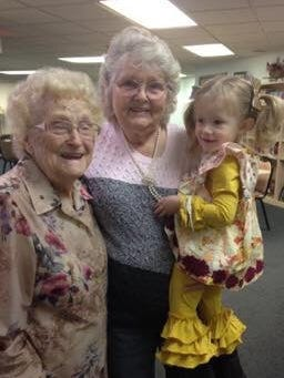 Lena Pierce died at the age of 97.