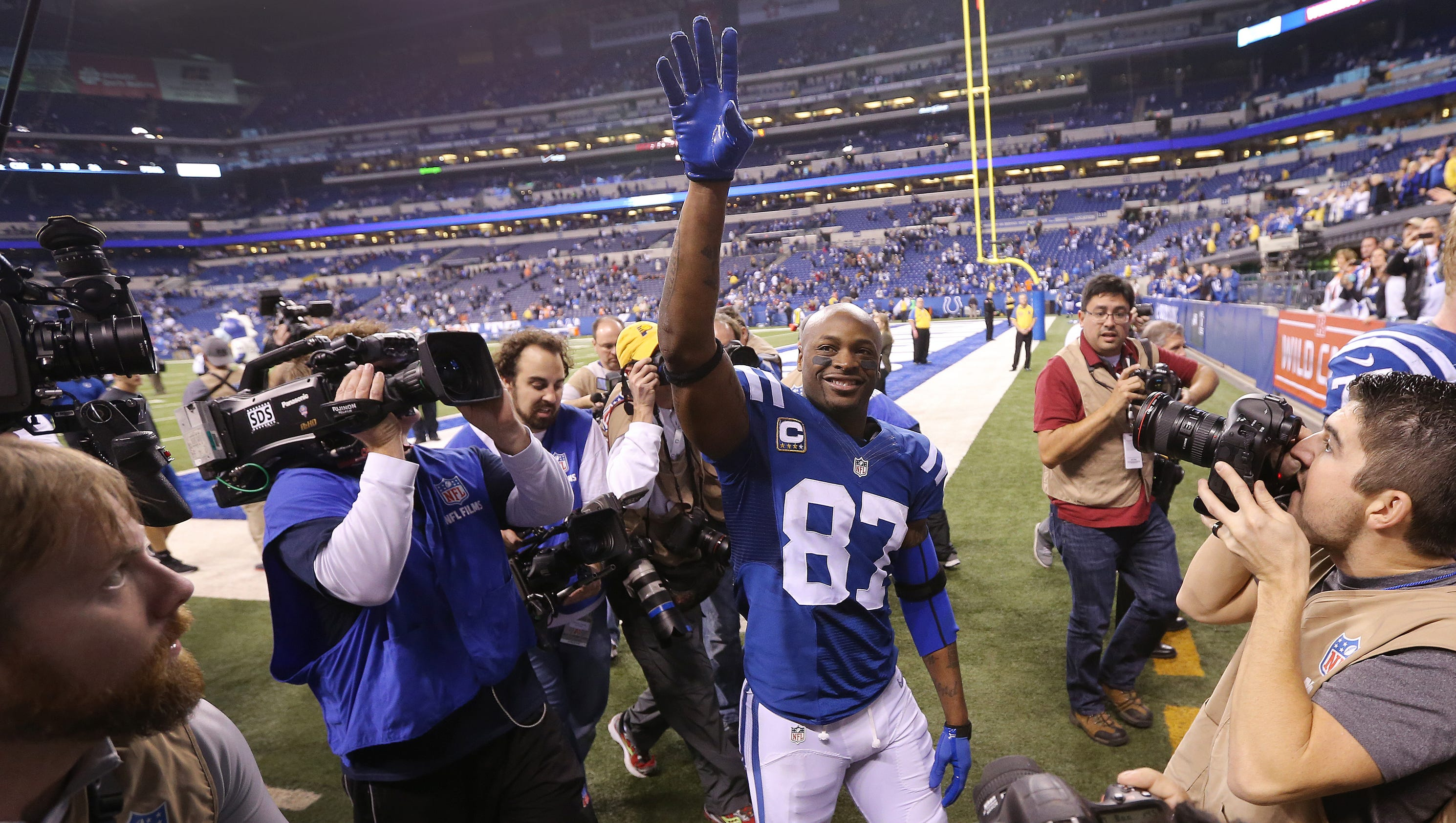 Letter from Reggie Wayne to Colts fans