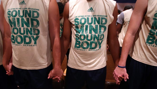 Coaches from MSU will be among representatives from more than 60 colleges who will attend the Sound Mind Sound Body Academy football clinic in Detroit. The Spartans' staff also will attend five other SMSB events in June across the country.